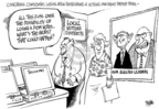 Cartoonist Dwane Powell  Dwane Powell's Editorial Cartoons 2007-09-18 legislation
