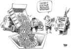 Cartoonist Dwane Powell  Dwane Powell's Editorial Cartoons 2007-11-16 legislation