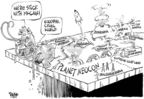 Cartoonist Dwane Powell  Dwane Powell's Editorial Cartoons 2008-02-11 tax