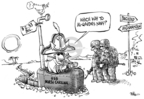 Cartoonist Dwane Powell  Dwane Powell's Editorial Cartoons 2008-05-07 Navy