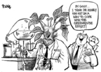 Cartoonist Dwane Powell  Dwane Powell's Editorial Cartoons 2008-07-03 climate