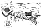 Cartoonist Dwane Powell  Dwane Powell's Editorial Cartoons 2008-07-03 Korean war