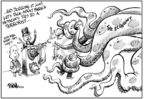 Cartoonist Dwane Powell  Dwane Powell's Editorial Cartoons 2008-10-09 2008 debate