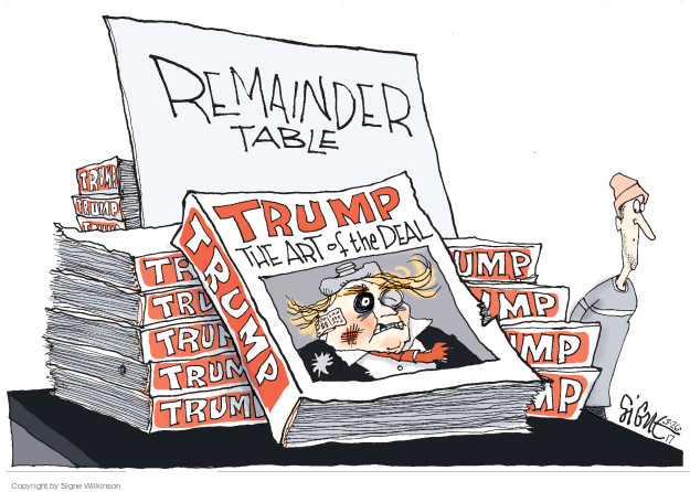 Remainder Table. Trump. The Art of the Deal.