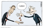 Cartoonist Signe Wilkinson  Signe Wilkinson's Editorial Cartoons 2008-11-11 2008 election
