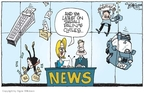 Cartoonist Signe Wilkinson  Signe Wilkinson's Editorial Cartoons 2008-11-14 vice president