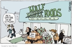 Cartoonist Signe Wilkinson  Signe Wilkinson's Editorial Cartoons 2008-11-19 food