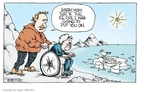 Cartoonist Signe Wilkinson  Signe Wilkinson's Editorial Cartoons 2009-05-15 climate