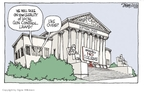 Cartoonist Signe Wilkinson  Signe Wilkinson's Editorial Cartoons 2009-10-02 opinion
