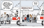 Cartoonist Signe Wilkinson  Signe Wilkinson's Editorial Cartoons 2009-10-30 labor