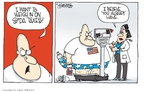 Cartoonist Signe Wilkinson  Signe Wilkinson's Editorial Cartoons 2010-03-15 tax