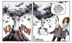 Cartoonist Signe Wilkinson  Signe Wilkinson's Editorial Cartoons 2010-04-19 education