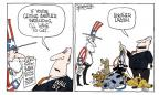 Cartoonist Signe Wilkinson  Signe Wilkinson's Editorial Cartoons 2010-07-13 dog