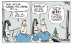 Cartoonist Signe Wilkinson  Signe Wilkinson's Editorial Cartoons 2010-07-16 appeals court