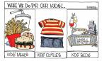 Cartoonist Signe Wilkinson  Signe Wilkinson's Editorial Cartoons 2010-08-04 food