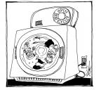 Cartoonist Signe Wilkinson  Signe Wilkinson's Editorial Cartoons 2007-01-01 wash