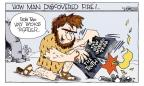 Cartoonist Signe Wilkinson  Signe Wilkinson's Editorial Cartoons 2010-09-13 discovery