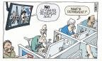 Cartoonist Signe Wilkinson  Signe Wilkinson's Editorial Cartoons 2010-10-27 retirement