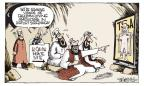 Cartoonist Signe Wilkinson  Signe Wilkinson's Editorial Cartoons 2010-11-23 privacy