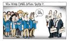 Cartoonist Signe Wilkinson  Signe Wilkinson's Editorial Cartoons 2011-06-22 court decision