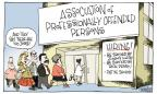 Cartoonist Signe Wilkinson  Signe Wilkinson's Editorial Cartoons 2011-09-08 opinion