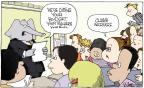 Cartoonist Signe Wilkinson  Signe Wilkinson's Editorial Cartoons 2011-09-20 education