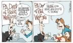 Cartoonist Signe Wilkinson  Signe Wilkinson's Editorial Cartoons 2012-01-20 childbirth