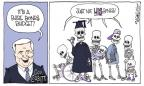 Cartoonist Signe Wilkinson  Signe Wilkinson's Editorial Cartoons 2012-02-09 bone