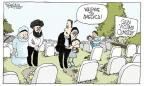Cartoonist Signe Wilkinson  Signe Wilkinson's Editorial Cartoons 2012-08-07 gun violence