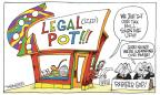 Cartoonist Signe Wilkinson  Signe Wilkinson's Editorial Cartoons 2012-12-11 small business tax