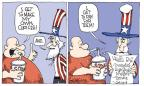 Cartoonist Signe Wilkinson  Signe Wilkinson's Editorial Cartoons 2013-03-13 cost