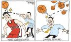 Cartoonist Signe Wilkinson  Signe Wilkinson's Editorial Cartoons 2013-04-05 basketball