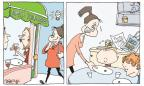 Cartoonist Signe Wilkinson  Signe Wilkinson's Editorial Cartoons 2013-11-04 food