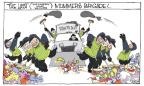 Cartoonist Signe Wilkinson  Signe Wilkinson's Editorial Cartoons 2014-01-03 division
