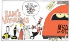 Cartoonist Signe Wilkinson  Signe Wilkinson's Editorial Cartoons 2014-01-05 information