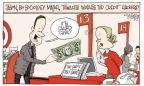 Cartoonist Signe Wilkinson  Signe Wilkinson's Editorial Cartoons 2014-01-16 information