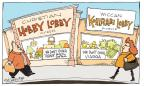 Cartoonist Signe Wilkinson  Signe Wilkinson's Editorial Cartoons 2014-03-28 birth
