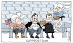 Cartoonist Signe Wilkinson  Signe Wilkinson's Editorial Cartoons 2014-04-30 Supreme Court