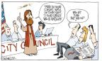 Cartoonist Signe Wilkinson  Signe Wilkinson's Editorial Cartoons 2014-05-08 privacy