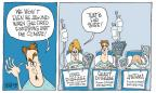 Cartoonist Signe Wilkinson  Signe Wilkinson's Editorial Cartoons 2014-06-08 climate