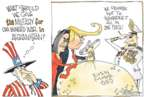 Cartoonist Signe Wilkinson  Signe Wilkinson's Editorial Cartoons 2019-12-12 Donald Trump