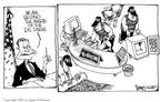 Cartoonist Signe Wilkinson  Signe Wilkinson's Editorial Cartoons 2002-01-18 information