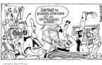 Cartoonist Signe Wilkinson  Signe Wilkinson's Editorial Cartoons 2003-06-25 college sports