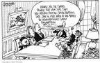 Cartoonist Signe Wilkinson  Signe Wilkinson's Editorial Cartoons 1992-03-29 mother son