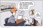 Cartoonist Signe Wilkinson  Signe Wilkinson's Editorial Cartoons 2006-02-01 Chief Justice