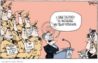 Cartoonist Signe Wilkinson  Signe Wilkinson's Editorial Cartoons 2006-04-18 number