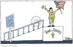 Cartoonist Signe Wilkinson  Signe Wilkinson's Editorial Cartoons 2006-07-25 bicycle race