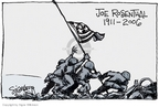 Cartoonist Signe Wilkinson  Signe Wilkinson's Editorial Cartoons 2006-08-22 World War II Memorial