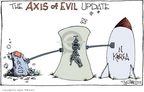 Cartoonist Signe Wilkinson  Signe Wilkinson's Editorial Cartoons 2006-10-12 Korean war