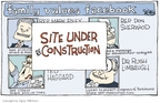 Cartoonist Signe Wilkinson  Signe Wilkinson's Editorial Cartoons 2006-11-07 usage